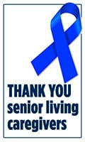 Thank you senior living caregivers